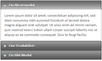 Modul Accordion