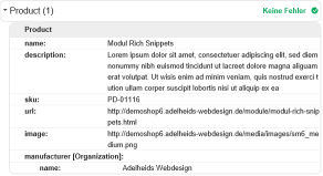 Modul Rich Snippets